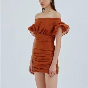 Floret Copper Dress